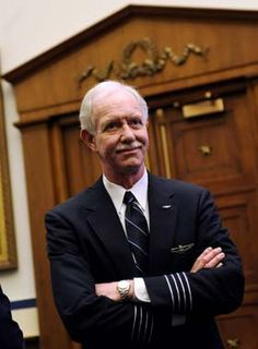 Chesley (Sully) Sullenberger, who piloted US Airways Flight 1549