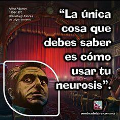 #EfemérideLiteraria En 1908 nace #ArthurAdamov. #Literatura #Teatro #Absurdo #Dramaturgia www.sombradelaire.com.mx