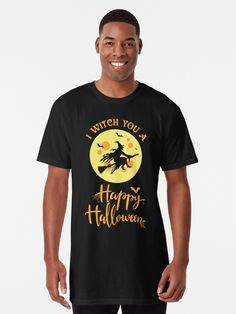 I Witch you a Spooky, Scary & Happy Halloween. What better way to enjoy Halloween than witch everyone a Happy Halloween. Grab your broomstick and be prepared to trick and treat on October 31st with this great design. An ideal design for the scary, haunted and horror enthusiasts. (ad) Spooky Scary, Trick Or Treat, Happy Halloween, Witch, Classic T Shirts, Mens Tops, Festive, Horror, October