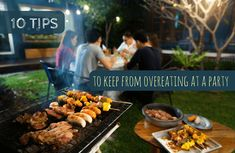 10 Tips to Keep from Overeating at a Party