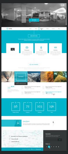 OTOC Free Website Template