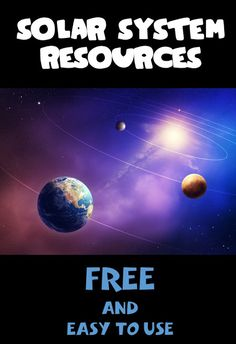 Make your space unit come to life with these great resources! All free, and oh so easy to use!!