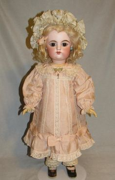 "23.5"" FG Bebe ~ Outstanding Condition from ~ FARAWAY ANTIQUE SHOP ~  found @Doll Shops United http://www.dollshopsunited.com/stores/faraway/items/1301275/235-FG-Bebe-Outstanding-Condition #dollshopsunited"
