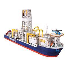 Wooden Model Ship Kits Junior Series- Scale models Drill Ship