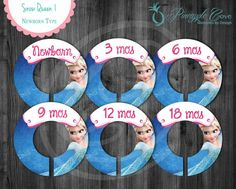 Snow Queen Baby Girl Closet Dividers to by PineappleCoveDesigns