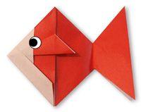 goudvis1 origami Origami Goldfish