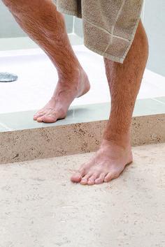 Kurk leent zich tot elke ruimte #kurk #vloer #badkamer