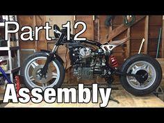 Assembling the Honda CX500 Cafe Racer - Moto Fugazi Build Part 12 - YouTube
