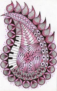 music-inspired paisley!