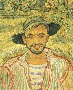 The artwork V.van Gogh, The Gardener / Paint./ 1889 - Vincent van Gogh we deliver as art print on canvas, poster, plate or finest hand made paper. Vincent Van Gogh, Art Van, Paul Gauguin, Claude Monet, Van Gogh Arte, Van Gogh Pinturas, Van Gogh Portraits, Portrait Paintings, Van Gogh Paintings