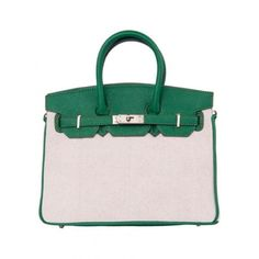 Green Vintage Azabu Totes Bag With Lock$68.00 ($68) ❤ liked on Polyvore