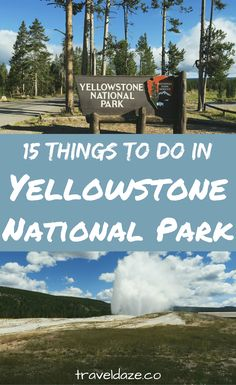 Most people think of geysers and hot springs when they think of Yellowstone, but that's not all there is to see. Here are the 15 best things to do in Yellowstone National Park. Most Visited National Parks, National Parks Usa, Grand Teton National Park, Yellowstone National Park, Yellowstone Vacation, Yellowstone Camping, Stuff To Do, Things To Do, Travel Around The World