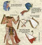 Ancient Egypt: paper doll (kind-of) cut outs.  Great for lap books or visuals!