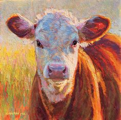 """""""Pippin"""" (pastel, 12x12 inches)"""