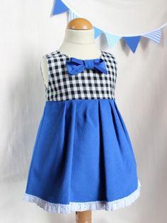 Popeline & co - Платье « Vichy » для девочки