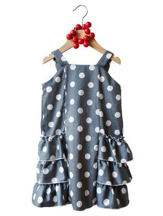 Zelda Dress by Ses Petites Mains.  A touch of Annees Folles!