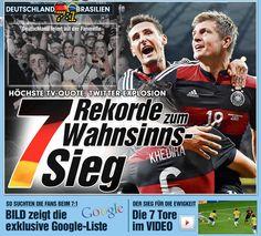 Deutschland  7 - 1  Brasilien