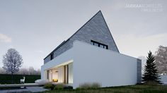 "House ""2in1"" - villa in rural countryside.  Project: JABRAARCHITECTS 