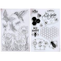 Kwan Crafts for You Bear Heart Clear Stamps for Card Making Decoration and DIY Scrapbooking
