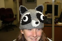 Ravelry: Raccoon Hat pattern by Madeleine Cantu