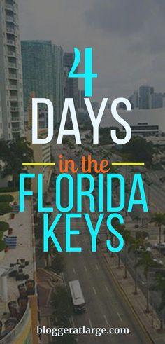 USA: 4 days on a Florida Keys road trip! How to spend 4 days in the Florida Keys. Visit Florida, Florida Vacation, Florida Travel, Florida Beaches, Travel Usa, Italy Vacation, Florida Trips, Travel Tips, Spain Travel