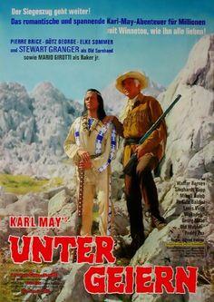 Unter Geiern - Filmplakat 1964 Film Movie, Movies, Western Film, Vulture, Film Posters, Investigations, Westerns, Cinema, Actors