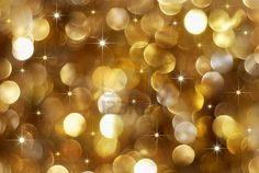 Christmas high contrast golden lights background..