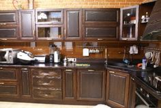 Кухня из массива сосны «Уют» Kitchen Cabinets, Home Decor, Decoration Home, Room Decor, Cabinets, Home Interior Design, Dressers, Home Decoration, Kitchen Cupboards