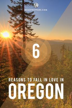 Oregon is full of gorgeous natural beauty. Craving a roadtrip!!