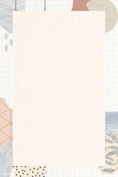 Cute Patterns Wallpaper, Aesthetic Pastel Wallpaper, Aesthetic Backgrounds, Aesthetic Wallpapers, Frame Background, Beige Background, Background Pictures, Powerpoint Background Design, Background Templates