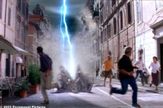"""The Core (movie) Special effects in the film """"The Core."""""""