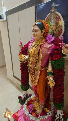 Hanuman Images, Durga Images, Gauri Decoration, Ganpati Decoration Design, Navratri Puja, Happy Ganesh Chaturthi Images, Durga Ji, Navratri Images, Lord Shiva Family