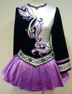 Beautifully #Irish Dance #Solo fitted dress by Celtic Solo