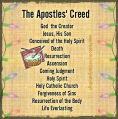 4th Article of the Apostles' Creed: Suffered under Pontus Pilate ...