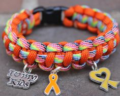 Finders Keepers Creations - Multiple Sclerosis Awareness Bracelet, $12.99 (http://www.finderskeeperscreations.com/multiple-sclerosis-awareness-bracelet/)
