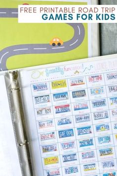 100 printable road trip games and activities for kids (and teens!) Perfect for keeping everyone occupied during long road trips. Includes license plate games bingo scavenger hunts mazes coloring pages and more! Road Trip Bingo, Road Trip Games, Road Trips, Car Ride Activities, Kids Travel Activities, Summer Activities, Road Trip With Kids, Travel With Kids, Family Travel
