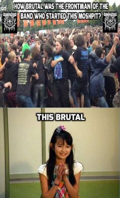 Saw this on the Babymetal meme sub and thought it quite...