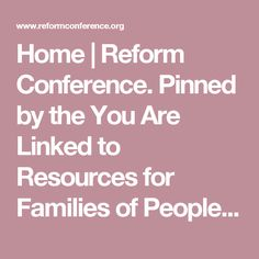 Home | Reform Conference. Pinned by the You Are Linked to Resources for Families of People with Substance Use  Disorder cell phone / tablet app December 27, 2016;   Android- https://play.google. com/store/apps/details?id=com.thousandcodes.urlinked.lite   iPhone -  https://itunes.apple.com/us/app/you-are-linked-to-resources/id743245884?mt=8com