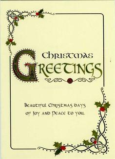 Christmas Celtic Christmas, Christmas Cards, Beautiful Christmas, Yule, Diy Art, Place Card Holders, Joy, Crafty, Art Ideas