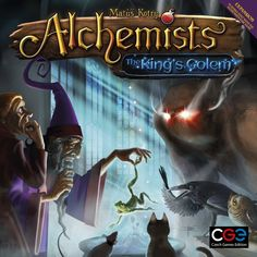 Just listed: Alchemists: The K... Check it out here!  http://www.thegamescorner.com.au/products/alchemists-the-kings-golem-expansion?utm_campaign=social_autopilot&utm_source=pin&utm_medium=pin