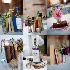Books Rustic vintage farmhouse styling ideas   DIY Weddings