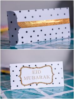 These free DIY printables are made to help bring up spirits in the holy month. This post is to show you how to put together the EID MUBARAK envelopes! What you'll need to put them together: P…