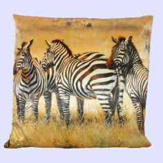 Have the safari in your home with this awesome Zebra themed velvet cushion cover. www.sophielam.co.uk