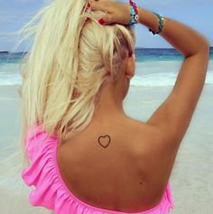 cute tattoo ♡ ♥ would be good for first tattoo