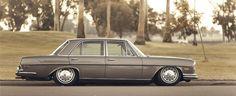 Alter schützt vor Tuning nicht: Dieser Mercedes 280 SE wurde 1968 gebaut. Sein...