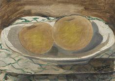 Georges Braque 1882 - 1963 DEUX POMMES signé G. Braque (en bas à droite) huile sur toile 19,3 x 27,3 cm Peint en 1935 | Sotheby's