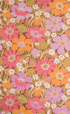 Vintage wallpaper B081 by JourneyInColors on Etsy