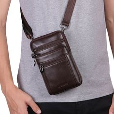 Leather Pouch, Leather Men, Leather Diary, Retro, Cheap Crossbody Bags, Bags Online Shopping, Mens Travel Bag, Bum Bag, Messenger Bag Men