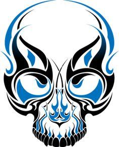 tribal skulls - Google Search