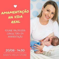 Olá grávidas e recém-mães de Porto Alegre - RS.  Evento GRATUITO dia 20/08 no estacionamento da loja @babysmegastore. Participem!! Serão duas palestras:  A amamentação na vida real - com @rosane_baldissera consultora internacional em amamentação e  Lua de leite ou Dias de neblina - o acolhimento da nova família - com @carol_organiza_mae_bebe consultora materno infantil.  São somente 50 vagas e as inscrições são gratuitas !!  Venha participar!! Maiores informações e inscrições diretamente na…